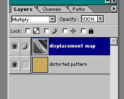 This is what the Layers palette should look like.