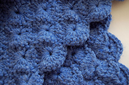 Crochet Blue Starburst Hat And Scarf Aprilgems Blog